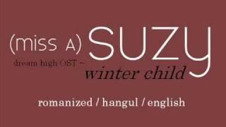 (miss A) Suzy - Winter Child LYRICS (Rom / Eng / Hangul)