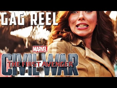 The First Avenger: Civil War - Gag Reel | Marvel HD