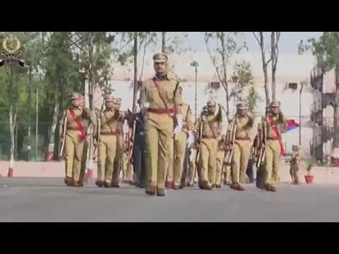 Independence day Parade by IPS Probationers 2015 Batch SVP NPA Hyderabad 15 08 2016