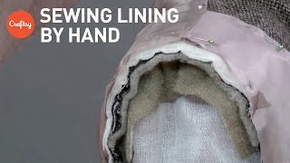 Inserting a Jacket Lining By Hand | Sewing Tutorial with Alison Smith