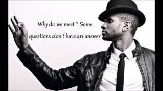 Usher ft. Chris Brown - All Falls Down (Lyric Video)