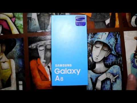 Samsung Galaxy A8 Kutu Açılışı