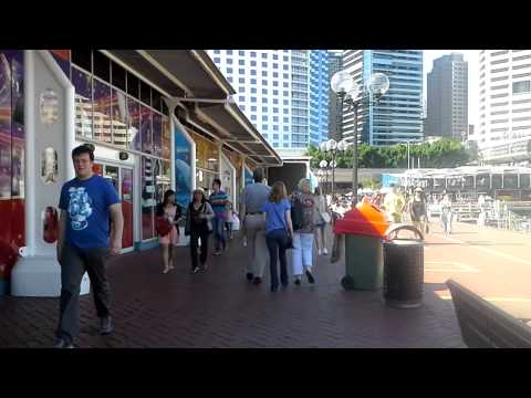 Sydney 2013 - Walk from Kent St. to Darling Harbor (Hurricanes)