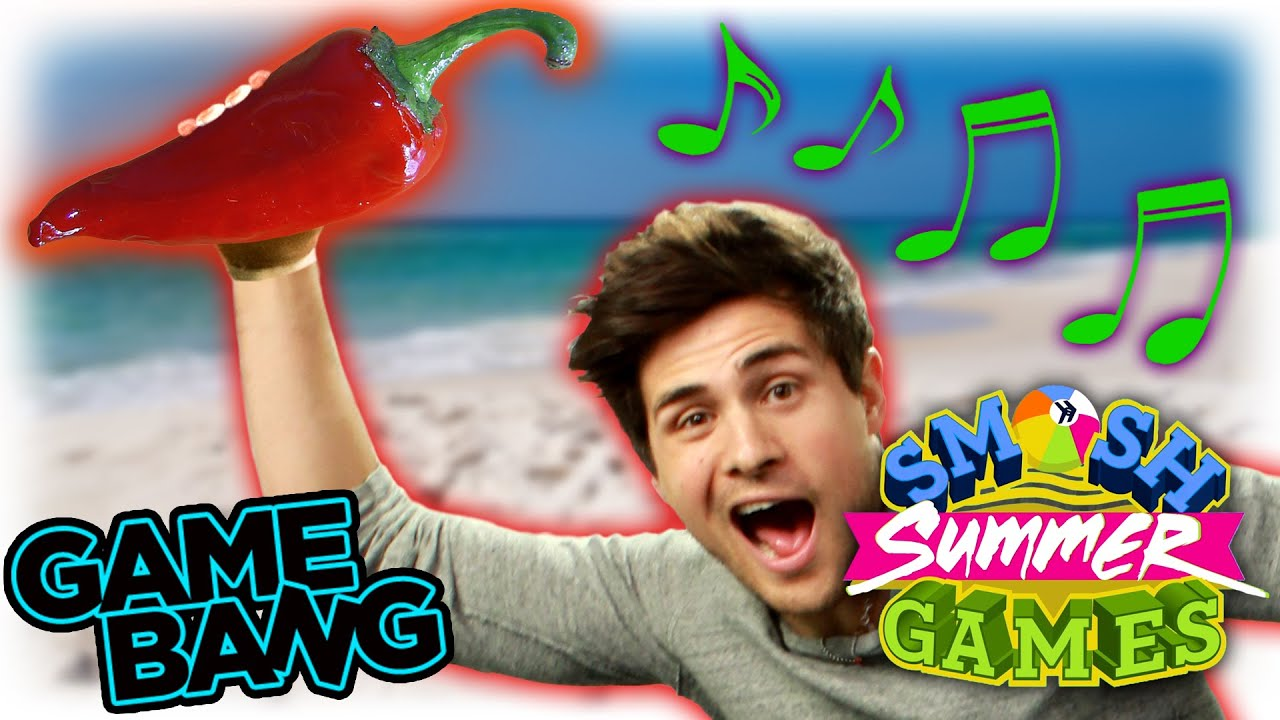HOT PEPPER BEACH PARTY (Smosh Summer Games) - YouTube