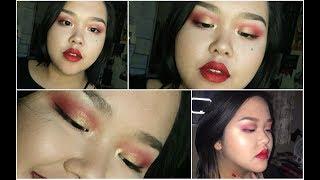 Sinulog Eyeshadow Tutorial (Red and Gold) thumbnail