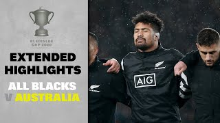 EXTENDED HIGHLIGHTS: All Blacks v Australia (Wellington)