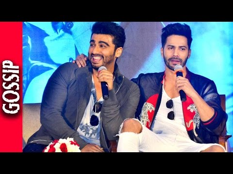 Varun Dhawan Is Jealous Of Arjun Kapoor - Revealed at Interview - Bollywood Gossip 2016