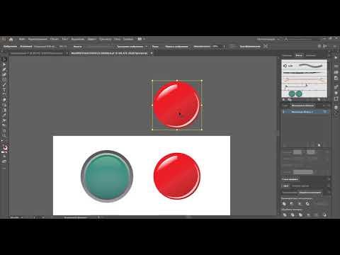 Создание кисти из градиентных объектов в Adobe Illustrator