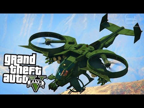 GTA 5 Aircraft Mods #2 - F-117 Nighthawk, AT-99 Scorpion and More