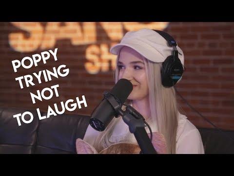 Poppy breaking character