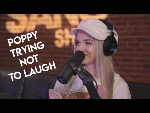 Poppy breaking character