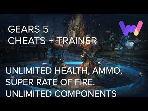 Gears 5 Trainer +11 Cheats (Unlim Health, Ammo, Components, Super Rate of Fire, & More) thumbnail