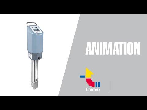 Timmer glue pump D3 english