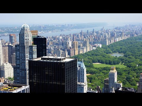 Best views of Manhattan, New York from above in HD
