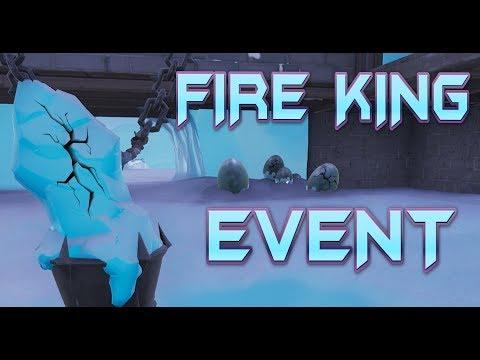 fortnite fire king event countdown live update v7 30 coming polar peak dragon egg watch - fortnite fire king event date