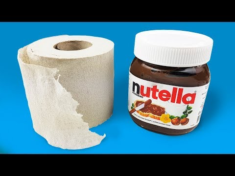 Thumbnail: HOW TO MAKE NUTELLA OR 5 DIY's TRICKS