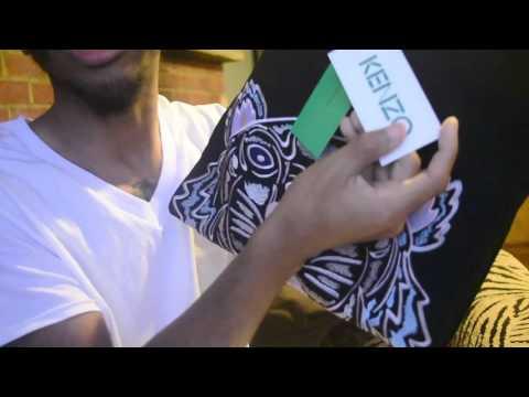 Blvck's Unboxings | Kenzo Tiger Logo Crewneck