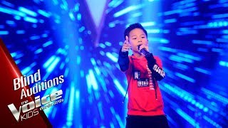 ไมตี้​ -  ลาลาลอย (100%) - Blind Auditions - The Voice Kids Thailand - 15 Apr 2019