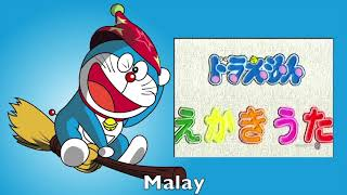 Download Mp3 Doraemon Ekaki Uta  Drawing Song  Multilanguage Comparison
