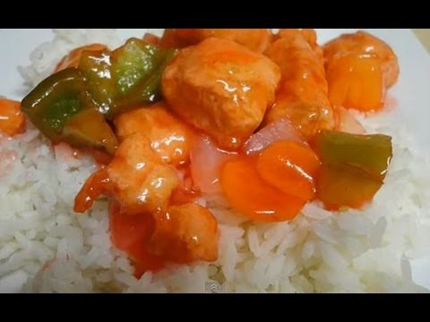 Sweet and sour chicken restaurant style youtube sweet and sour chicken restaurant style forumfinder Choice Image