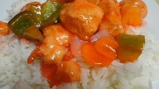 Sweet And Sour Chicken - Restaurant Style