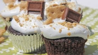Divas Can Cook - S'more Cupcakes & Marshmallow Frosting!