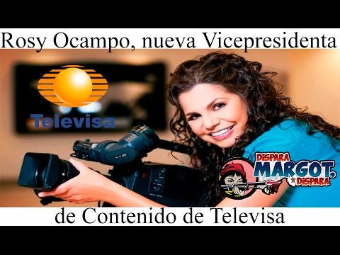 Rosy Ocampo, nueva Vicepresidenta de Contenido de Televisa