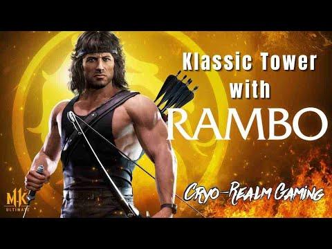 Mortal Kombat 11 Ultimate | Klassic Tower w/Rambo (Dredd) |