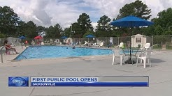 Jacksonville's first public pool opens in time for Fourth of July