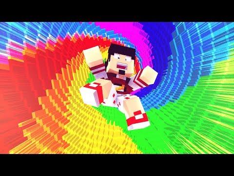 Minecraft: TEMOS QUE CAIR NISSO - RAINBOW DROPPER ‹ AMENIC ›