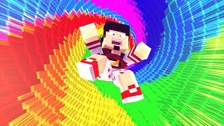 Minecraft: TEMOS QUE CAIR NISSO - RAINBOW DROPPER ‹ AMENIC ›
