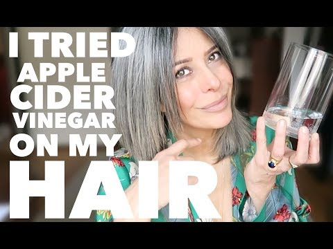 Apple Cider Vinegar (ACV) on Natural Grey Hair | Rocking Fashion & Life in my 50's