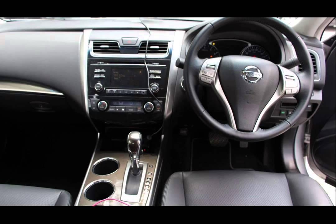 2015 model nissan teana 2.5 xv sedan - YouTube