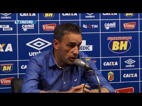 Coletiva do técnico Paulo Bento após o jogo contra o Atlético-PR