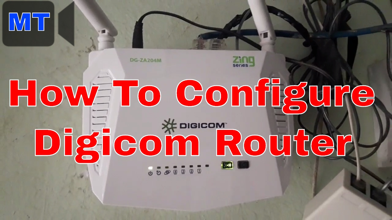 DIGICOM DG-5424R Router Driver for Windows 10