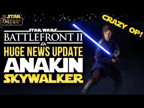 4 Abilities! Anakin Skywalker IS CRAZY | Battlefront 2 Update thumbnail