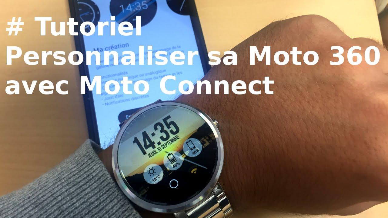 Tutoriel moto 360 comment personnaliser sa montre avec - Comment personnaliser sa chambre dado ...
