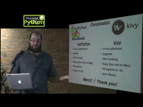 Starting on a GUI: WXpython vs Kivy #MP55