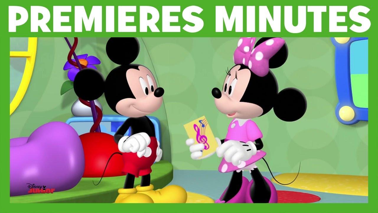La Maison De Mickey Popstar Minnie Youtube