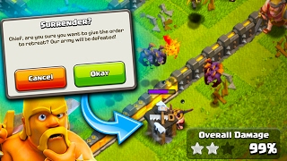 WOULD YOU END IT? I AM THE NICEST PERSON IN CLASH OF CLANS!... KINDA