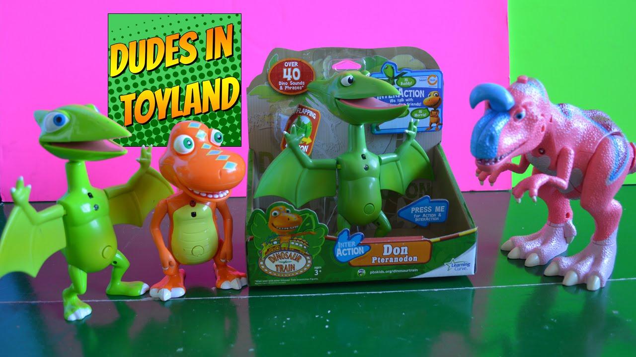 InterAction Don Pteranodon Interactive Dinosaur Train toys ...