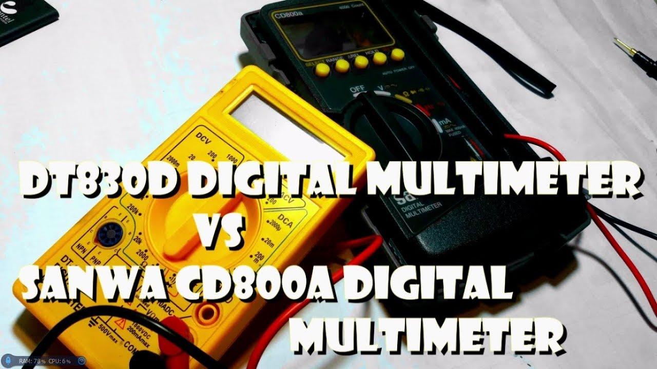 Winner Multimeter Dt 830d Daftar Harga Terkini Dan Terlengkap Dt830d Digital Circuit Diagram Sanwa Cd800a Vs Dsksl