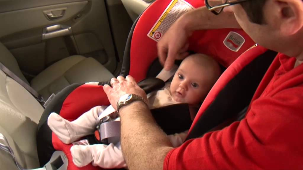 Britax First Class Plus How To Fit Rearward Facing Youtube