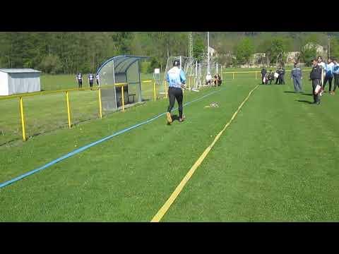 Okrsek Heřmánky 2019 . Petr Huňát - 100 M Překážky 1. Pokus