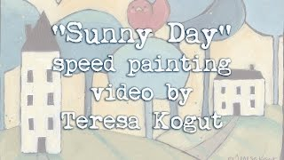 Sunny Day speed painting