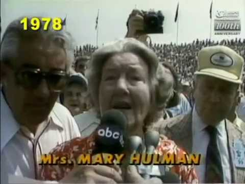 Mary F. Hulman's Starting Commands (Start Your Engines!) at the Indianapolis 500 (All 18 years)
