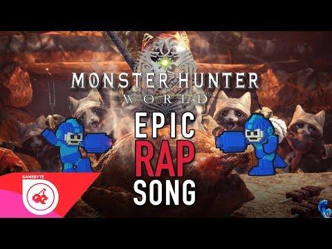 Monster Hunter: World Music Video - Monster Hunters (MEGA RAN   Monster Hunter World Song   RAP)