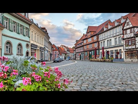 Muenster Northern Germany Deutschland Countryside Rural Village in Spring Climate Sunny Weather tr