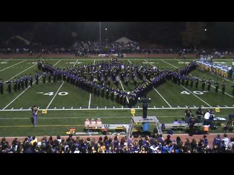 111408 Amador Valley High School Marching Band Pre...