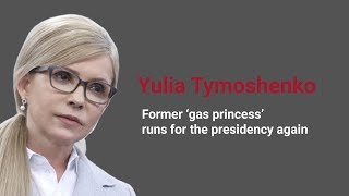 Election Watch: Yulia Tymoshenko. Former 'gas princess' runs for presidency again